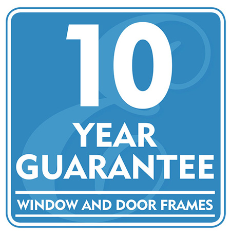 10 Year Guarantee - Window and Door Frames