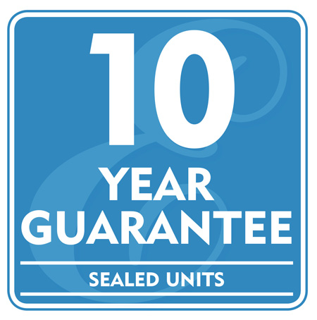 10 Year Guarantee - Sealed Units