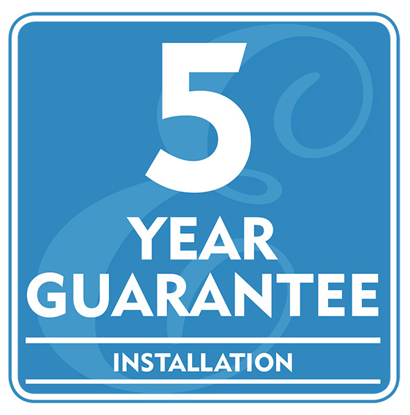 5 Year Guarantee - Installation