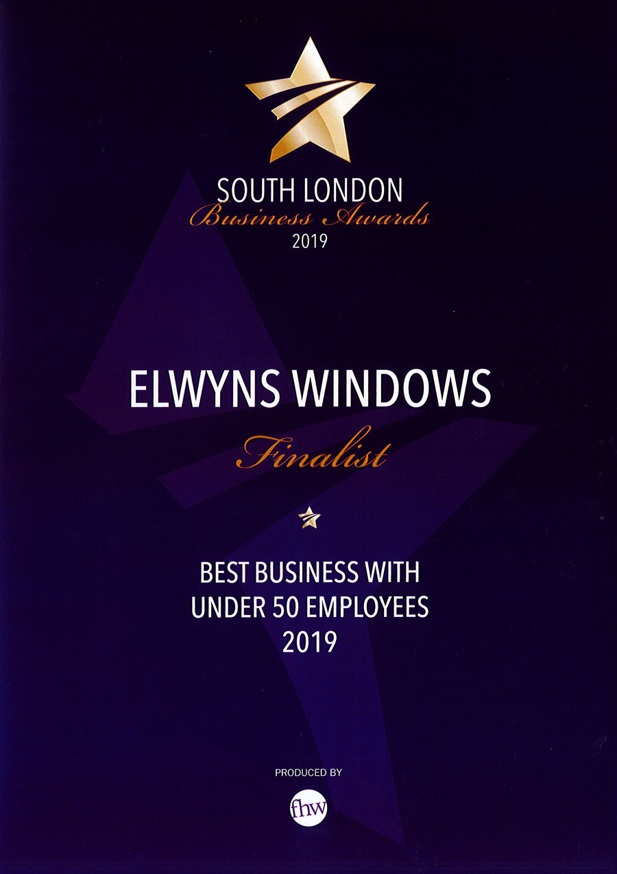 South London Business Awards 2019 - Best Business with under 50 Employees