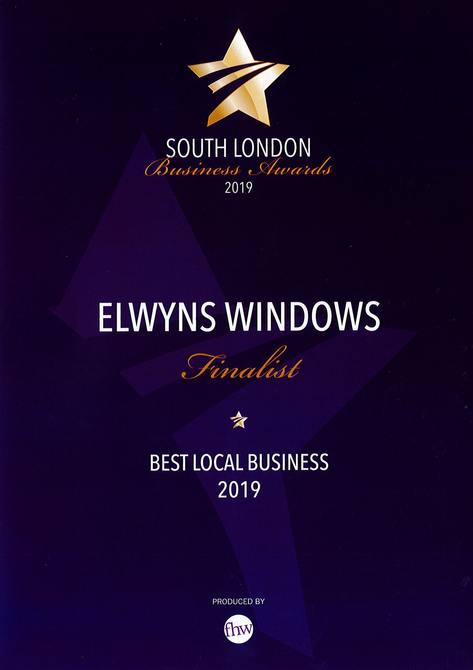 South London Business Awards 2019 - Best Local Business
